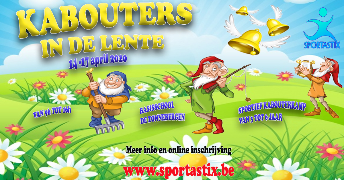 KABOUTERS IN DE LENTE
